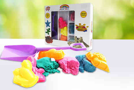 Toys Wizard - space kinetic sand play kit - Save 70%
