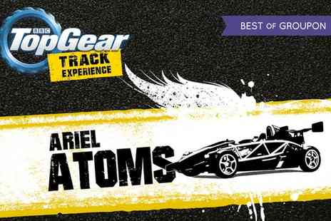 Top Gear Track Experience - Top Gear Studio Access with Ariel Atom Experience and an Optional Hot Lap - Save 24%