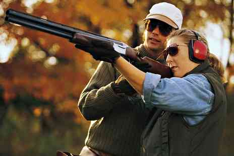 Hereford Paintball - Clay Pigeon Shooting for 10 People - Save 0%