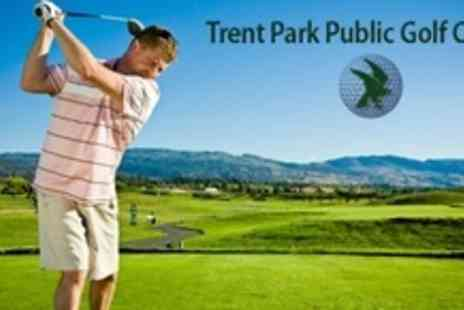 Trent Park Golf Club - 18 Holes of Golf For Two With Range Balls and Refreshments - Save 62%