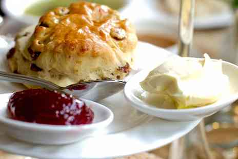 Palm Court Cafe - Choice of Sandwich and Yorkshire Cream Tea for Two or Four - Save 46%