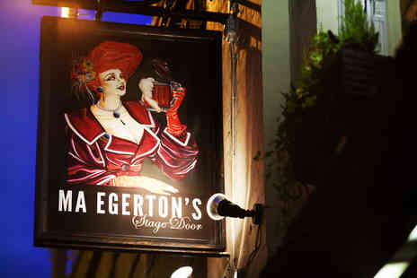 Ma Egertons Stage Door - Two or Five cocktails - Save 67%