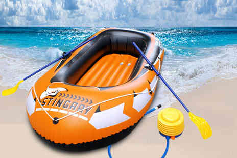 Boyz Toys - Large inflatable dinghy - Save 52%