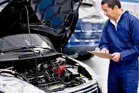 Triumph Road Tyres - Car Air Conditioning Service with Re Gas Plus 54 Point Inspection - Save 59%