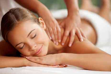 Makeover Hair & Beauty - Choice of Massage with Optional Facial - Save 55%