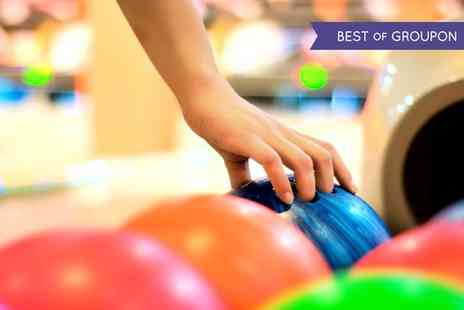 M&Ds Theme Park - Bowling and Soft Drinks for Four or Six - Save 38%