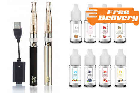 E Cignature - Three Piece Ego T ECigarette Starter Kit With Free Delivery - Save 61%