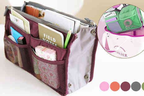HB Wholesale - Inner Handbag Organiser Five Colours - Save 59%