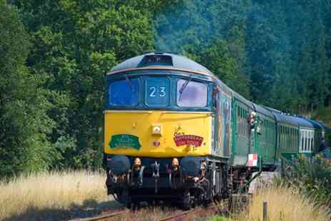 Spa Valley Railway - Extended Diesel Train Driver Experience - Save 0%