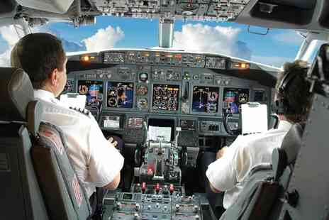 Virtual Jet Centre - Boeing 737 800 Flight Simulator Experience - Save 44%
