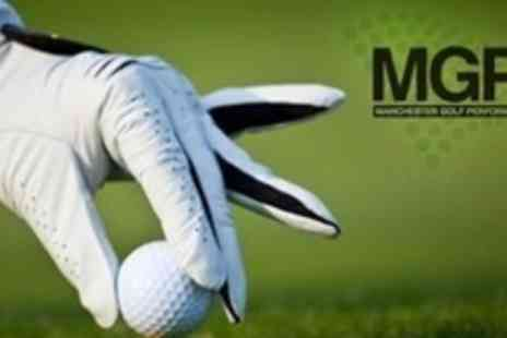 Manchester Golf Performance Centre - 60 Minute PGA Professional Golf Lesson With Video Analysis - Save 62%