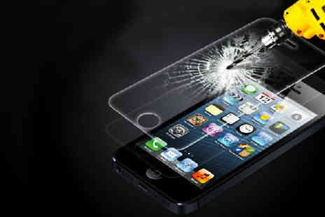 Tech-Tronics - Tempered Glass Screen Protector - Save 80%