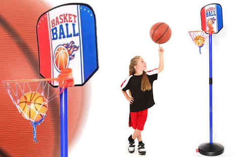 Toy Loco - Kids Basketball Hoop Set - Save 0%