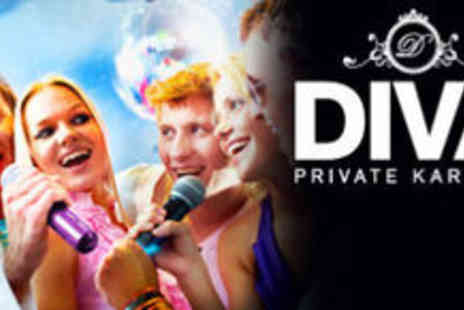 Diva Private Karaoke - 2 Hour Private Karaoke Booth For Up To 6 People - Save 73%