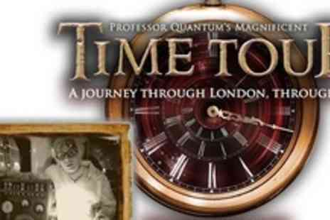 Time Tour - Present and Future with Professor Quantums Magnificent Time Tour - Save 55%