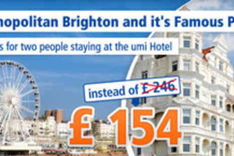 umi Hotel - Three days stay for 2 for only GBP 154 instead of GBP 246 - Save 37%