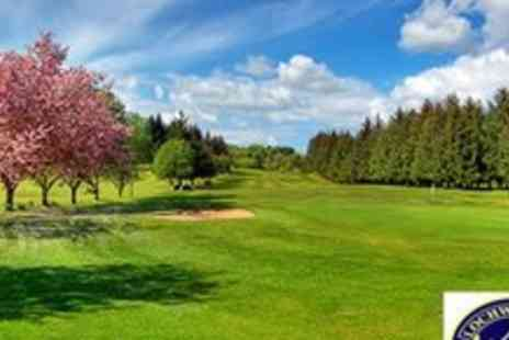 Lochwinnoch Golf Club - Two ball with snack, tea or coffee for two people - Save 55%