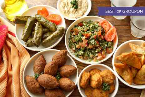 SO Mezze and Lounge - Mezze and a Glass of Wine for Up to Six - Save 64%