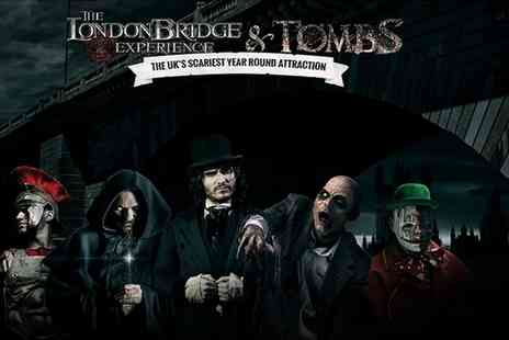 The London Bridge Experience - Entry to the London Bridge Experience and Tombs - Save 38%