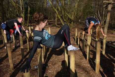 Wild Forest Gym - Obstacle Skills and Outdoor Fitness Class For Up to Four - Save 61%