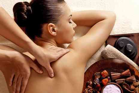 Affinity Beauty Therapy - Half Hour Swedish Back, Neck and Shoulder Massage and Half Hour Reflexology Massage - Save 57%