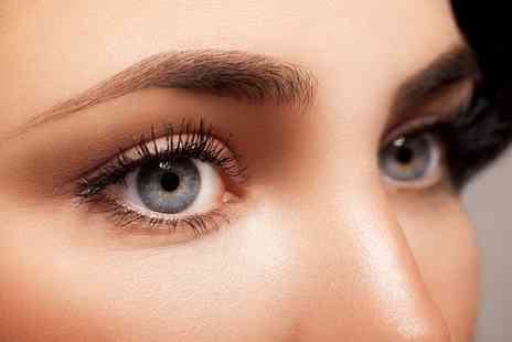 The Beautique - Individual Eyelash Extensions with Eyebrow Wax or Thread for One or Two - Save 0%