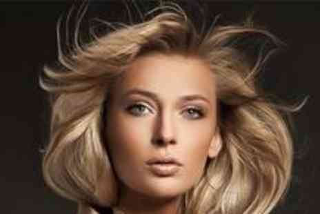 B Inspired Hair Studio - Full head of highlights, cut, restyle and treatment - Save 70%