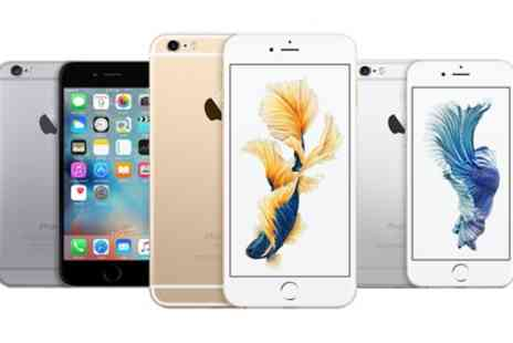Greats Distribution - Refurbished 16, 64 or 128GB iPhone 6 or 6+ in Choice of Colour With Free Delivery - Save 0%