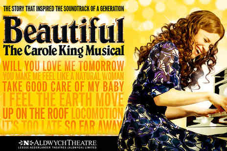 Beautiful The Carole King Musical - Five Star Two nights Stay in a Superior Double Room - Save 0%