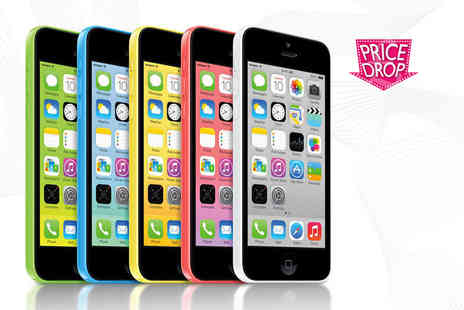 ClickWrap - Unlocked Grade B refurbished Apple iPhone 5c 8GB, £139 for 16GB - Save 57%