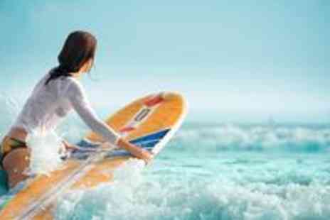 Cresseys Surf Academy - Two hour surfing lesson with a BSA qualified surfer,  including all equipment - Save 60%