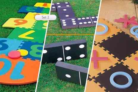 UK Home and Garden Store - Set of three garden game - Save 76%