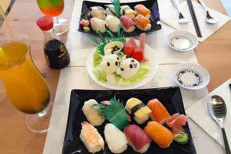 Ichiban Express - Kawaii Bento Sushi Experience with Bubble Tea for Two or Four - Save 0%
