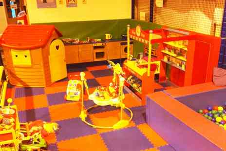 Funtastic Play Centre - Up to Three Visits to Soft Play Centre for Two Children with Juice - Save 31%
