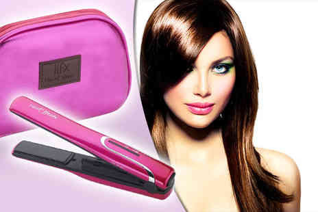 VidaHaus - Pair of mini HFX cordless hair rechargeable straighteners - Save 63%