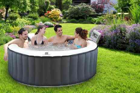 Ebuyer - Inflatable four person hot tub spa - Save 0%