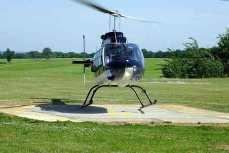 Whizzard Helicopters - Helicopter buzz flight - Save 48%