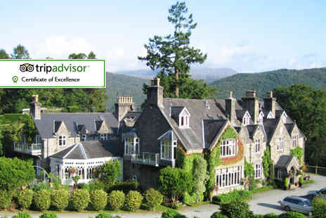 Penmaenuchaf Hall Hotel - Two night Snowdonia stay for two with sparkling wine on arrival, breakfast and  two £10 vouchers towards dinner - Save 55%