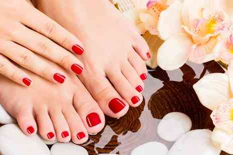 Beauty By Georgia - Gel Manicure or Pedicure or Both - Save 0%