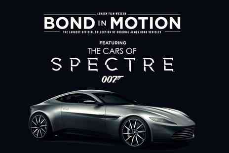 London Film Museum - Bond in Motion at the London Film Museum Child, Adult or Family Entry - Save 21%