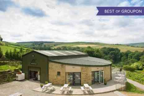 Holmfirth Vineyard - One Night Stay For 2, 4 or 6 With Breakfast, Wine, Vineyard Tour and Wine Tasting - Save 45%