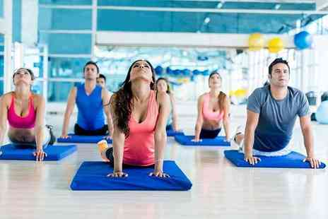 MoveGB - 10 one hour yoga or Pilates classes - Save 86%