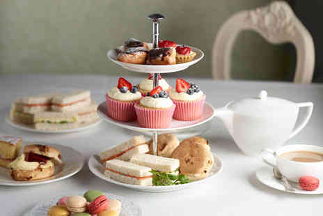 The Cakery - Delicious afternoon tea for 2 including sandwiches, mini desserts and scones - Save 0%