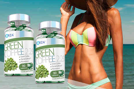 Nutriodol Supplements - Two month supply of Forza green coffee fat burner capsules - Save 65%