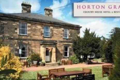 Horton Grange Hotel - One Night Executive Stay For Two With Breakfast in Northumberland - Save 51%