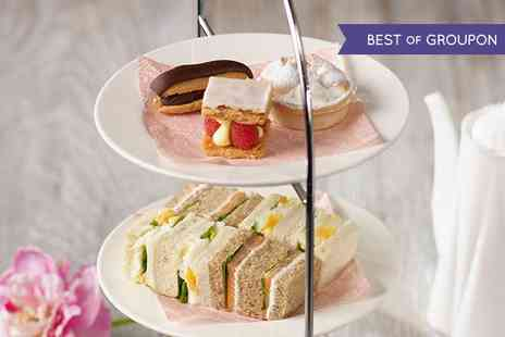 Maison Blanc - Afternoon Tea with Bubbly for Two - Save 40%
