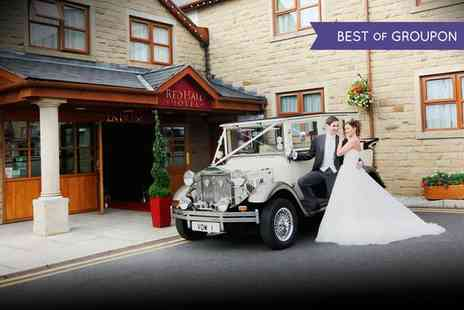The Red Hall Hotel - Wedding Package for 50 Day and 50 Evening Guests - Save 81%
