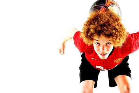 The Basingstoke Studio - Football Inspired Photoshoot with Prints for One or Two Children  - Save 0%