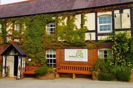 The Mulberry Inn -  North Wales Stay For 2 With Breakfast and Prosecco With Option For Cocktails, Nibbles and Dinner  - Save 37%