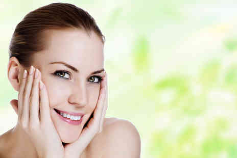 Natural Touch Beauty and Skin Clinic - Choice of luxury dermalogica facial treatment and gelish pedicure - Save 52%